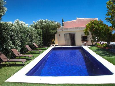 Photo for Pretty Cortijo/cottage in Salobrena, private pool, sea and mountain views