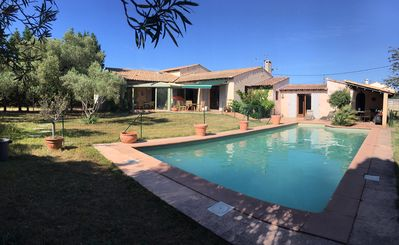 Photo for Seasonal rental of a large villa with 5 bedrooms and pool