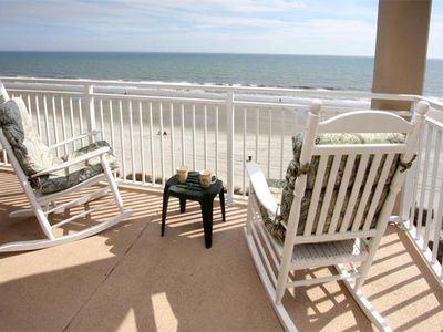 Photo for San-A-Bel OceanFront Corner Unit! View Endless Sunsets From the 5th Floor