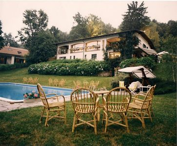Photo for Comfortable Villa with private pool and large garden, near Como and Milan