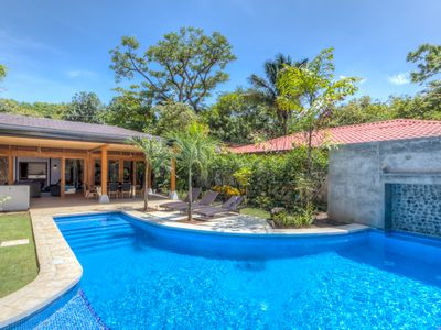 Photo for Beautiful oasis with pool in the heart of Playa Guiones