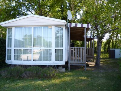 Photo for Immobilhome on Camping 4 * Les Charmettes CC322
