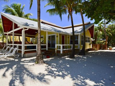 Photo for Private Beach Front House, in West Bay Village on West Bay Beach