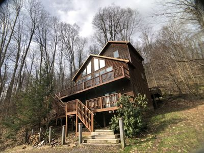 Photo for Cinnamon Fern Chalet - Pet Friendly, Hot Tub, Short Drive to Two Ski Areas & Two State Parks