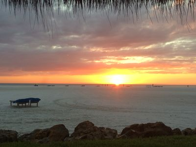 Photo for Sunset Condo 305, Beachfront with Amazing Sunsets
