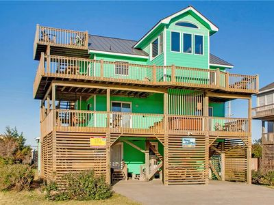 Easy Beach Access, Theater Room, Pool, Hot Tub Game Room - Semi-Oceanfront, Avon