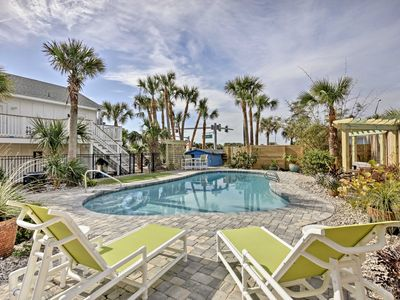 Photo for Updated St Augustine Home w/Pool - Steps to Beach!