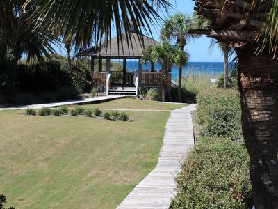 Photo for April Specials!!!  GULFVIEW, 2 BR/2BA, LOFT, DOG FRIENDLY, WI-FII, 1 MIN TO BEAC