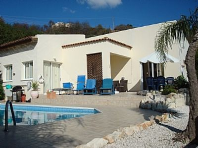 Photo for Detached Villa with private Pool. Fantastic views. Overlooking vineyards