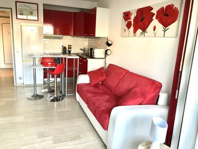 Photo for Nice little studio, classified 3 stars 200 meters from the beach