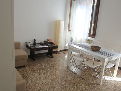 Photo for Very bright 140sqm house in the historic center of Venice.