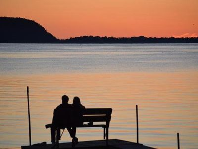 Photo for On  the Water.  In the Woods.  Close to Everything. Perfect for Two.