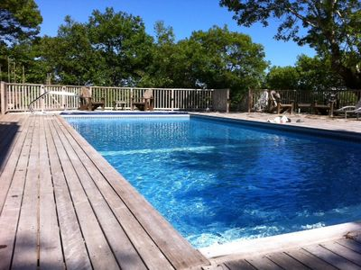 Photo for 2 Bed East End Condo with assn. Pool w/Great Deck & Private Patio for unit 7!!