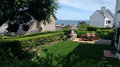 Photo for HOUSE FACING THE SEA 150 M FROM THE BEACH Rosaries near Saint Brieuc