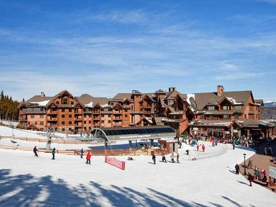 Photo for Time share week -Ski In Ski Out Week March 30 -April 6 , 2019
