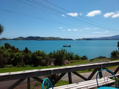 Photo for Beach Getaway with Stunning Ocean and Island Views - 70 meters from the Beach!