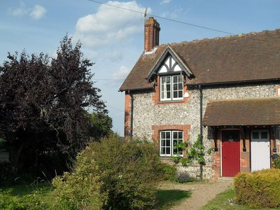 Photo for Victorian brick and flint cottage in the South Downs National Park
