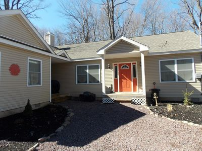 Photo for Walk to the Lake and Pool or Sit by the Fire-Perfect House for Every Season