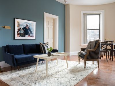 Photo for Playful 1BR in Fenway by Sonder