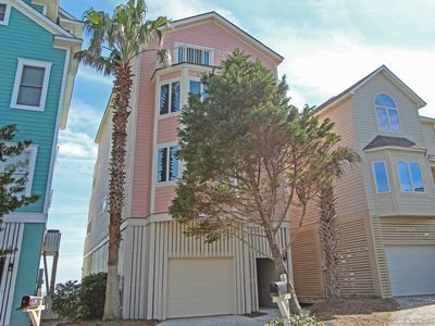 Photo for Stunning 3 story oceanfront home with gourmet kitchen and 3 oceanfront decks!