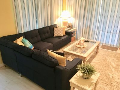 Completely updated living room!