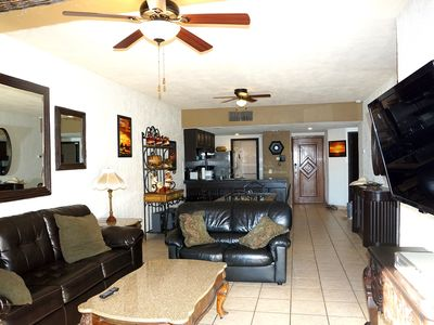 Photo for Ocean Front Ground Floor Condo. Convenient direct access to pools and beach