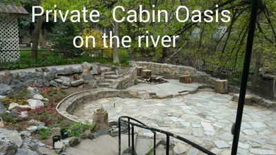 Photo for Spacious cozy cabin, perfect outdoor living with ogden river in the back yard