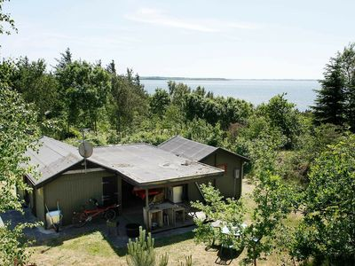 Photo for Tranquil Holiday Home in Jutland with Sea View
