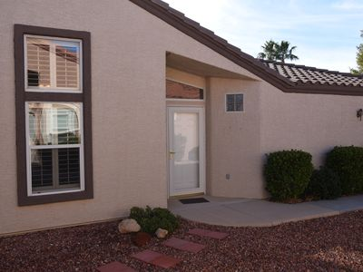 Recently updated! Comfortable townhouse in sunny Mesquite. 30 day minimum.