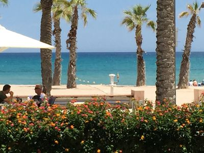 Photo for Beach of San Juan Alicante, suitable swimming pool, wifi, A. C and parking