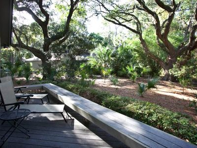 Photo for 48 Deer Run   Pool Access @ South Beach   2 Living Rooms   Ranch-Style Home   Sea Pines
