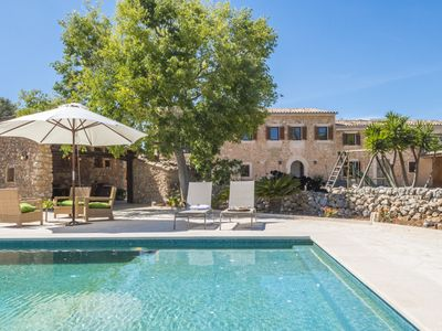 Photo for Typical local country estate with Yacuzzi- pool and large outdoor area
