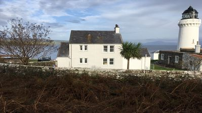Rear view of The Lighthouse Keepers Cottage