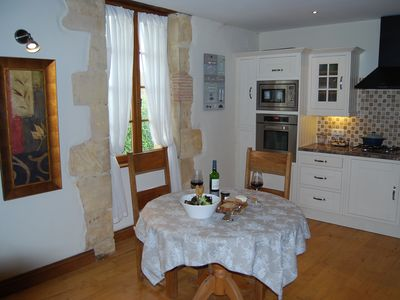 Photo for Luxury One Bedroom Pigonnier, with Courtyard Garden and Pool