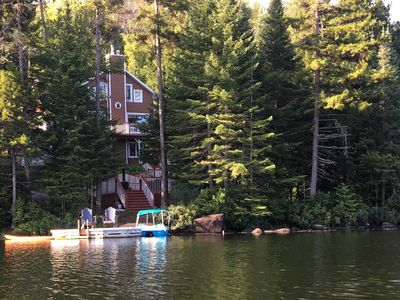 Photo for Beautiful lake front cottage located in St-Adolphe-D'Howard on Lake Garry..