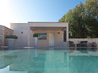 Photo for Casa Di Valle, character house with heated pool