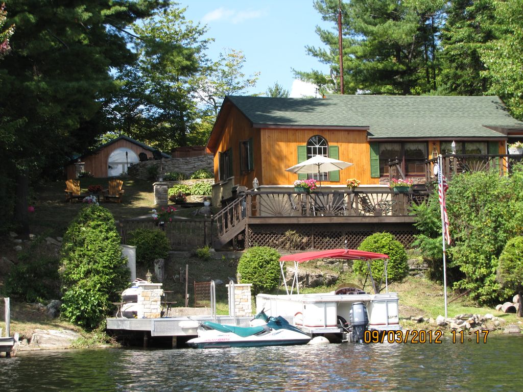 Trout Lake Waterfront Cottage In The Adiron Vrbo
