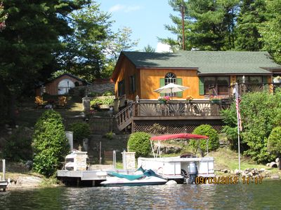 Photo for Trout Lake Waterfront Cottage in the Adirondack Park Region