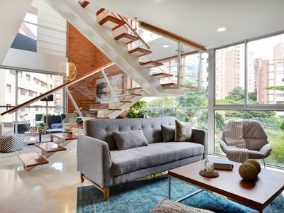 Photo for Modern Designer Duplex Loft in Exclusive Zone