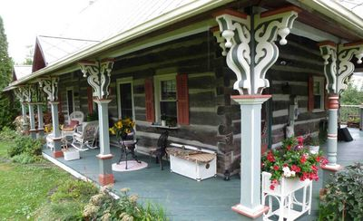 Front porch spring
