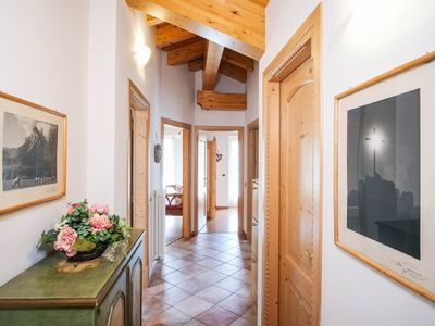 Photo for Relax in the green heart of Trentino - apartment for 8 people