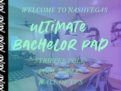 Photo for PRN2 ★ BACHELOR/ETTE PARTY COMPOUND ★ STRIPPER POLE ★ GAME ROOM ★ NEAR DOWNTOWN