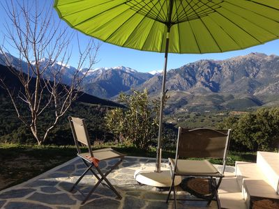 Photo for 1BR Apartment Vacation Rental in Tralonca, Corse