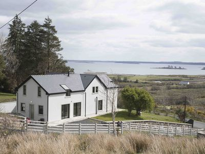 Photo for Luxurious 3 bed home high above  Lough Mask