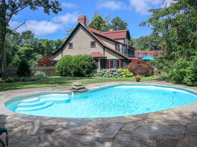 Photo for Luxurious Orleans Home with Private Salt Pool, Sleeps 10 (linens included); 12-O