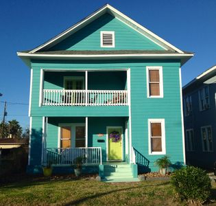 Photo for Perfect Location! 1 block from the Beach, Sleeps 10.