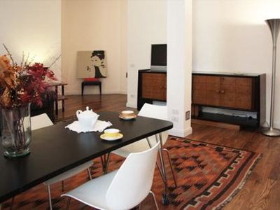 Photo for Taramelli  apartment in Borghese-Parioli with WiFi & integrated air conditioning.