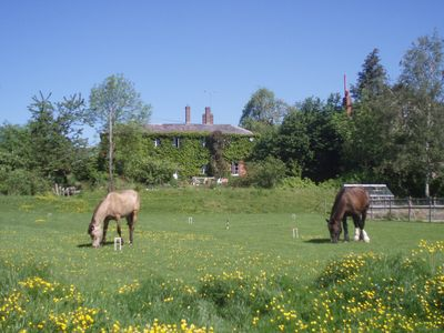 Photo for Lower Buckton House in country just 10 miles west Ludlow. Family, friends & pets