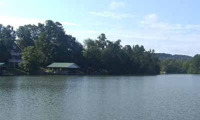 Photo for Beautiful Lakefront Home with Large Covered Dock, Boat Ramp, AT&T WiFi