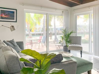 Photo for NEW LISTING! Beachy getaway w/ shared pool, water views, & furnished patio!